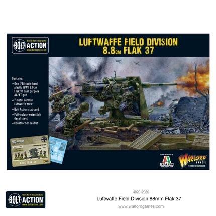 Warlord games Bolt Action: German- Luftwaffe Field Division 8.8cm Flak 37