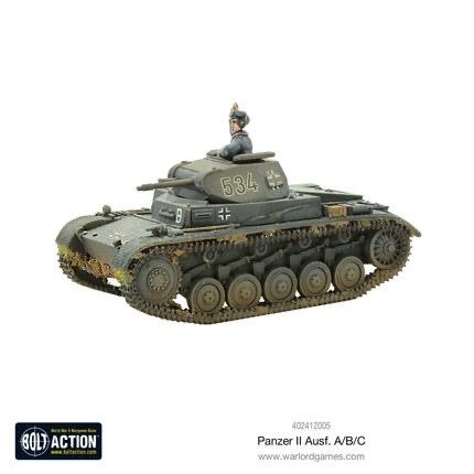 Warlord games Bolt Action: German- Panzer II Ausf A/B/C