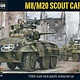 Warlord games Bolt Action: M8/M20 Scout car (us, Italy, british)