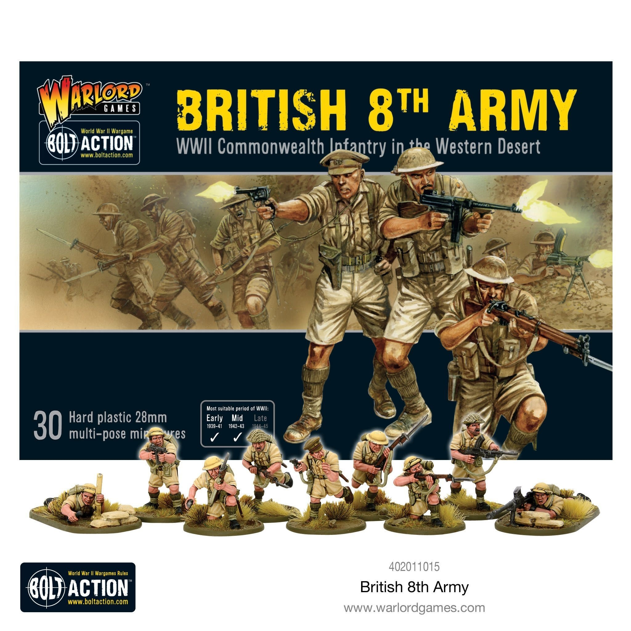 Warlord games Bolt Action: British- 8th Army