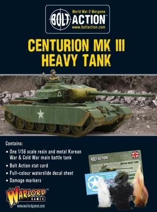 Warlord games Bolt Action: British- Centurion MKIII Heavy Tank