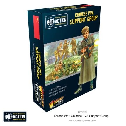 Warlord games Bolt Action: Chinese- PVA Support Group