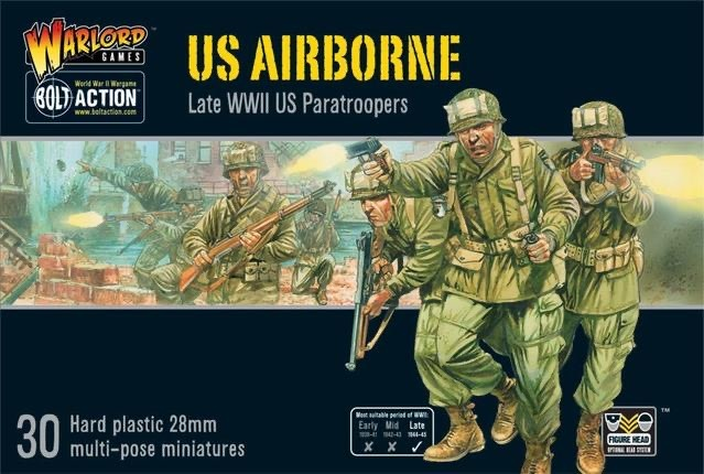 Warlord games Bolt Action: US- Airborne