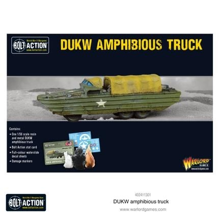 Warlord games Bolt Action: US-  DUKW Amphibious Truck