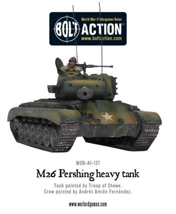 Warlord games Bolt Action: US- M26 Pershing