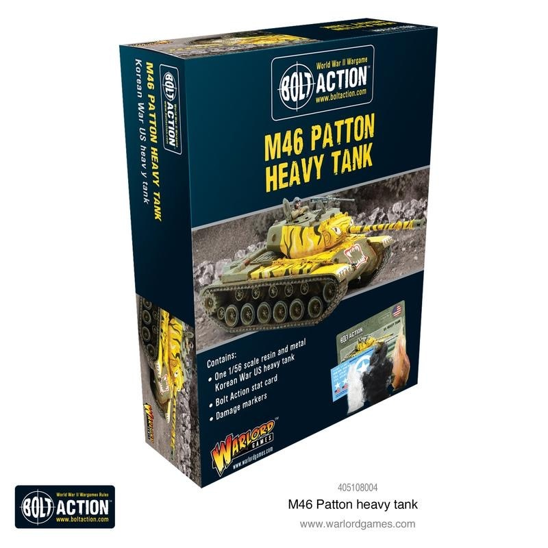 Warlord games Bolt Action: US- M46 Patton Heavy Tank