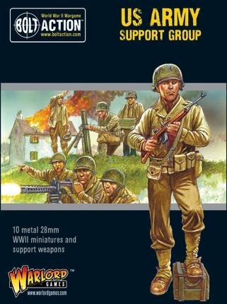 Warlord games Bolt Action: US- Army Support Group