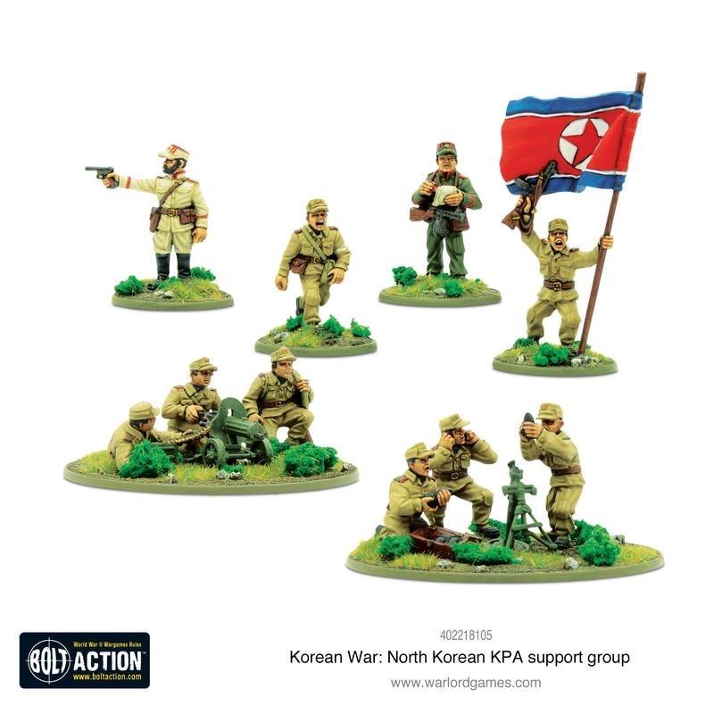 Warlord games Bolt Action: North Korea- KPA Support Group