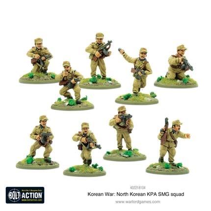 Warlord games Bolt Action: North Korea- KPA SMG Squad
