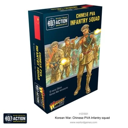 Warlord games Bolt Action: Chinese- PVA Infantry Squad