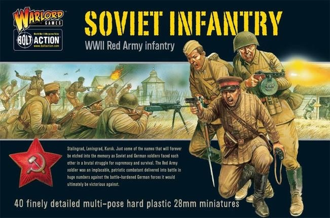 Warlord games Bolt Action: Soviet- Infantry