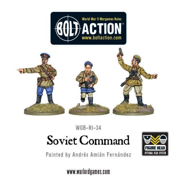 Warlord games Bolt Action: Soviet- Army Command