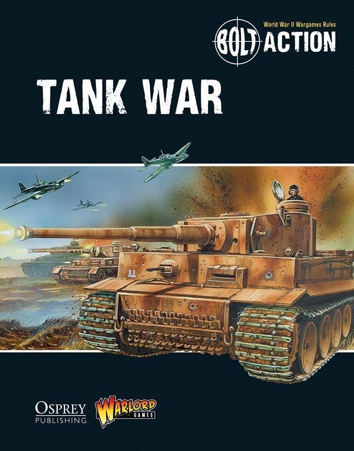 Warlord games Bolt Action: Tank War Book