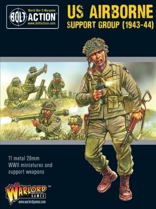 Warlord games Bolt Action: US- Airborn Support Group (1943-44)