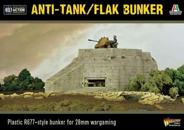 Warlord games Bolt Action Terrain: Anti-Tank Flak Bunker