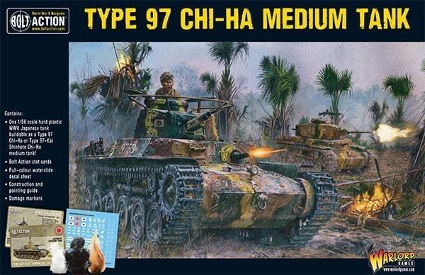 Warlord games Bolt Action: Japan- Type 97 CHI-HA Medium Tank