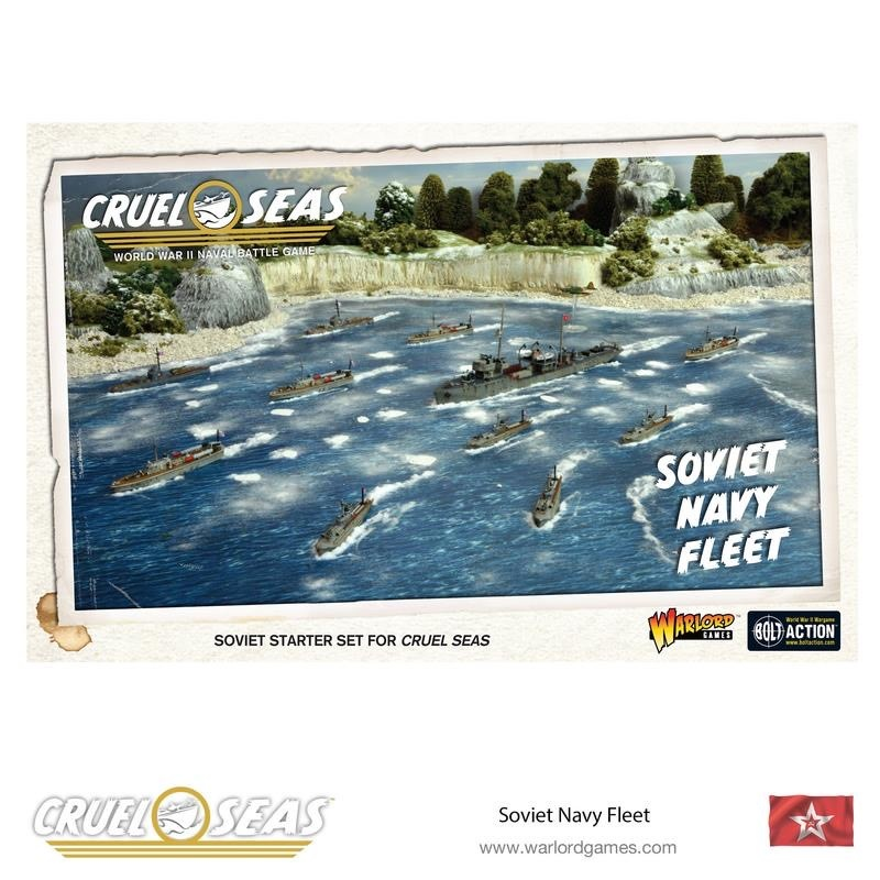 Warlord games Cruel Seas: Soviet Navy Fleet