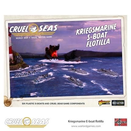 Warlord games Cruel Seas: German Kriegsmarine S-Boat Flotilla