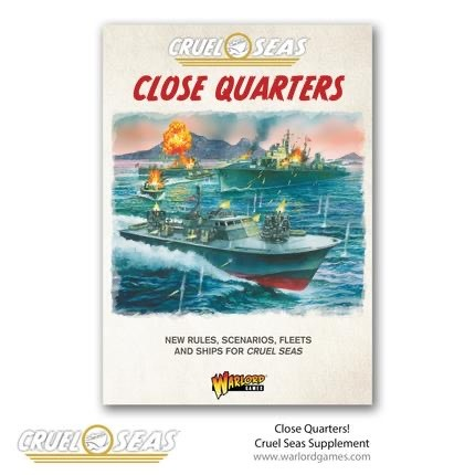 Warlord games Cruel Seas: Close Quarters Book
