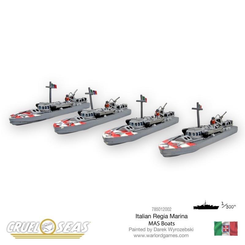 Warlord games Cruel Seas: Italian Mas Boats