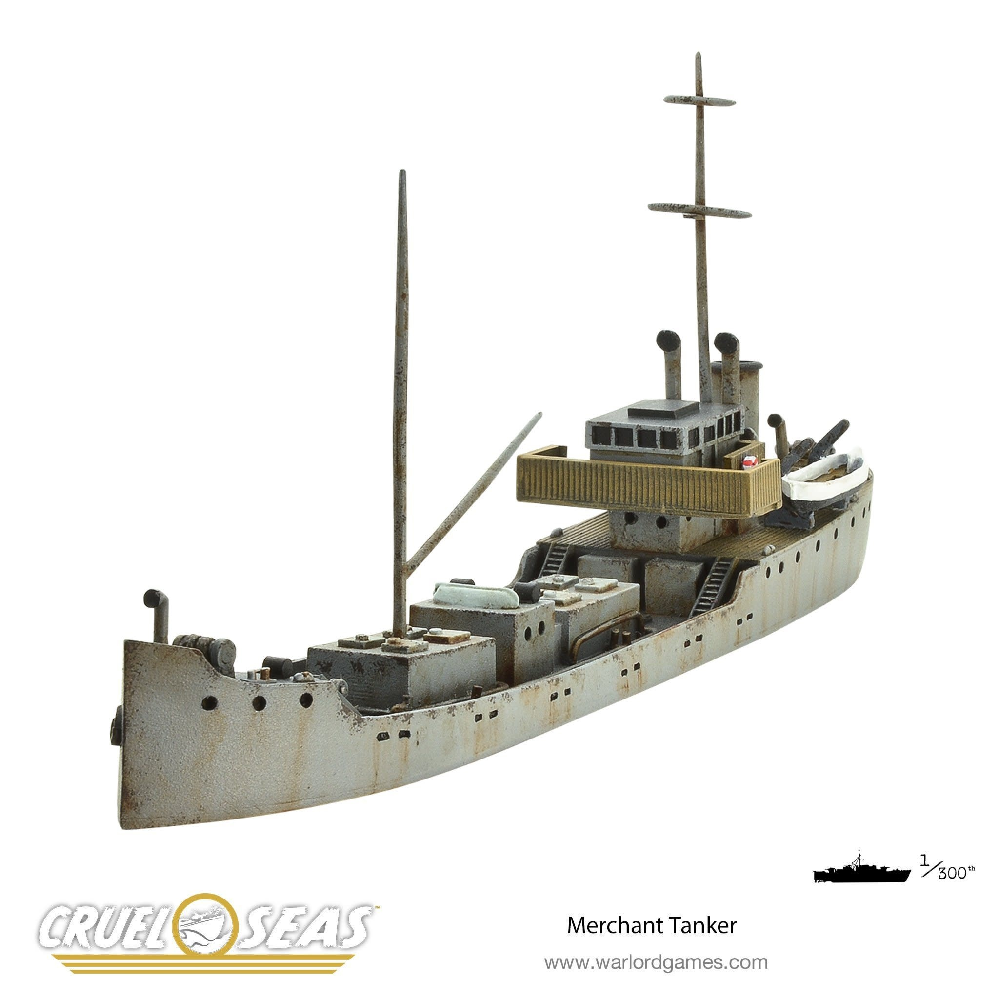 Warlord games Cruel Seas: Merchant Tanker