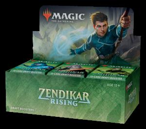 Magic the Gathering Magic the Gathering CCG: Zendikar Rising Booster
