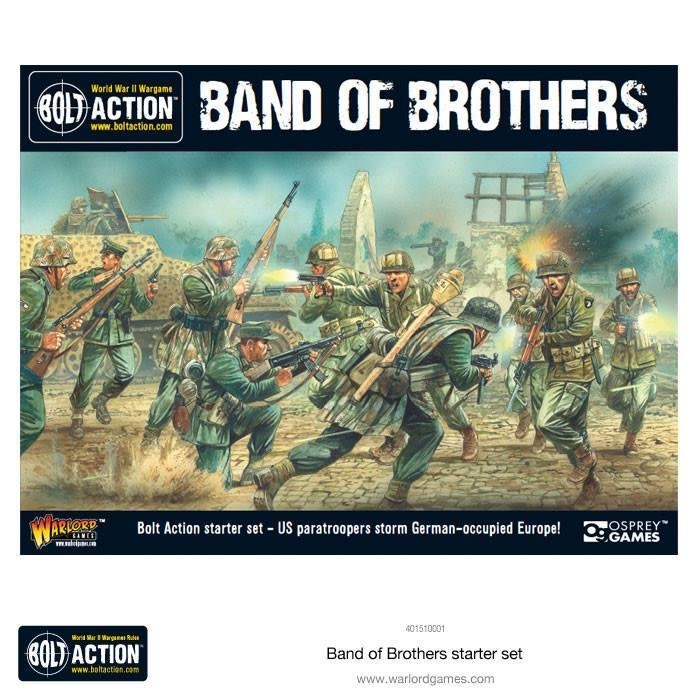 Warlord games Bolt Action: Band of Brothers WWII Starter Set