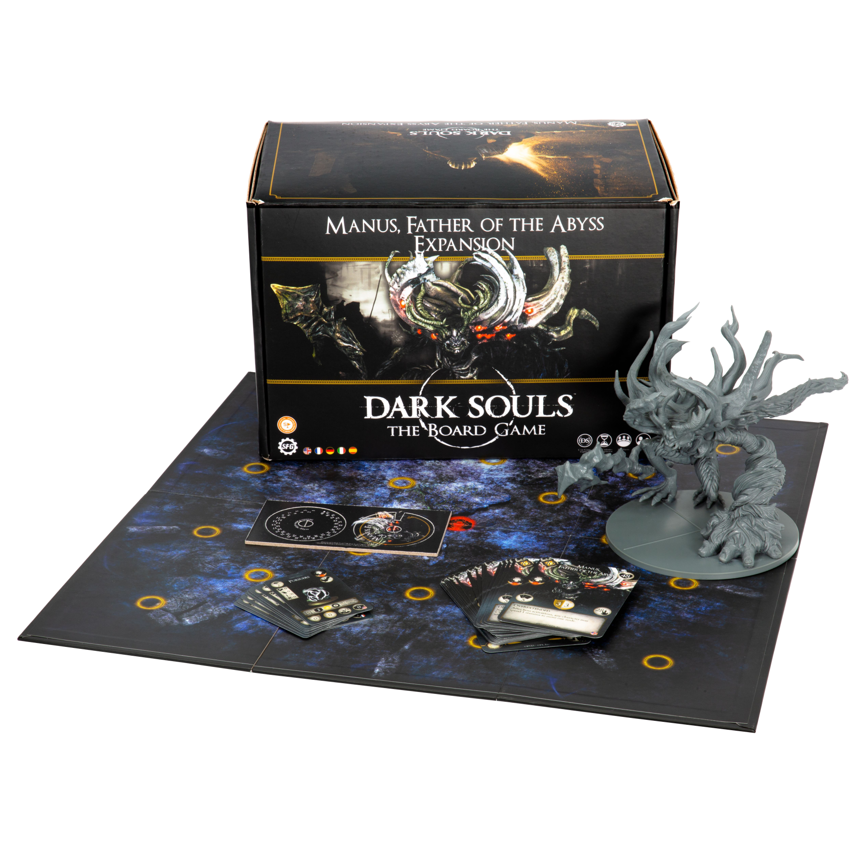 Steamforged Dark Souls Board Game: Manus, Father of the Abyss