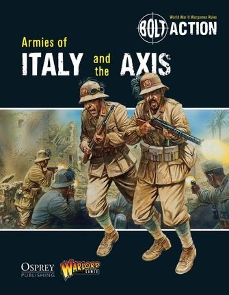 Warlord games Bolt Action: Armies of Italy and the Axis Book