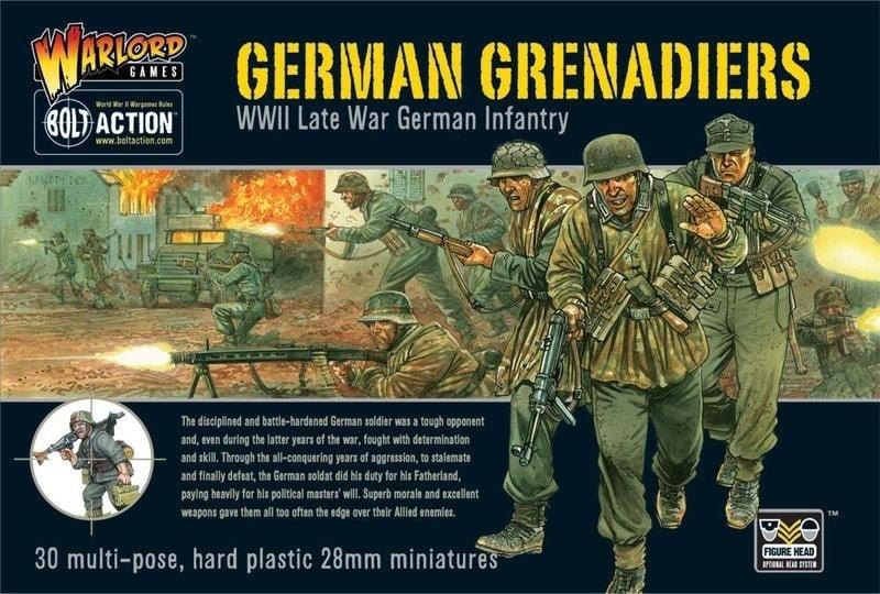 Warlord games Bolt Action: German- Grenadiers