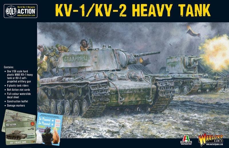 Warlord games Bolt Action: Soviet- KV-1/KV-2 Heavy Tank