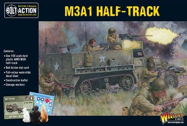 Warlord games Bolt Action: US- M3A1 Half-Track