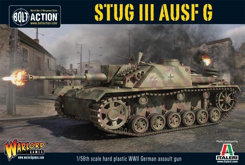 Warlord games Bolt Action: German- Stug III Ausf G