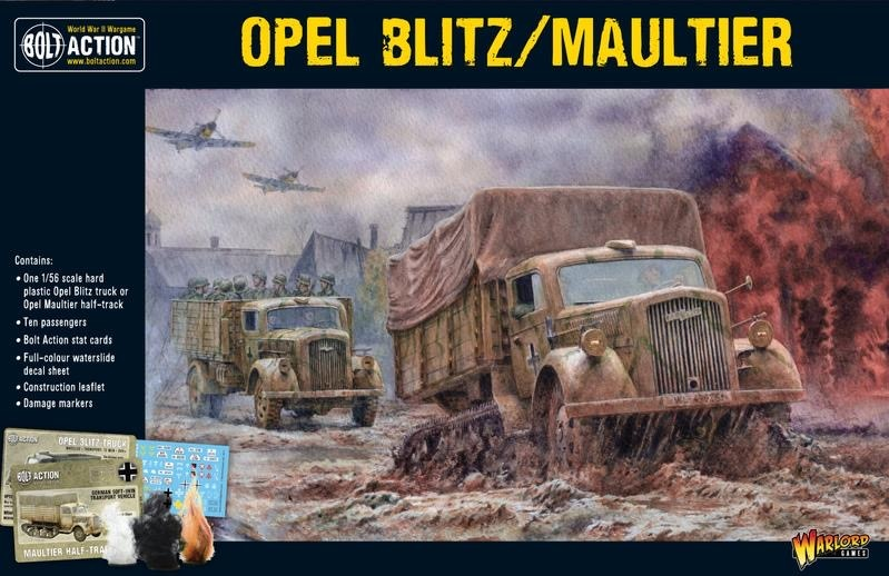 Warlord games Bolt Action: German- Opel Blitz/ Maultier