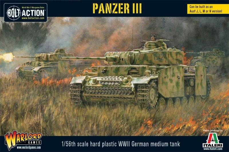 Warlord games Bolt Action: German- Panzer III