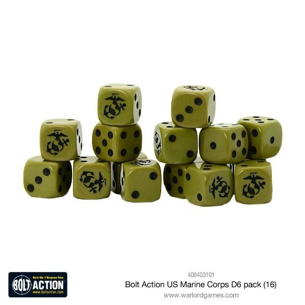 Warlord games Bolt Action: US- Marine Corps D6 pack