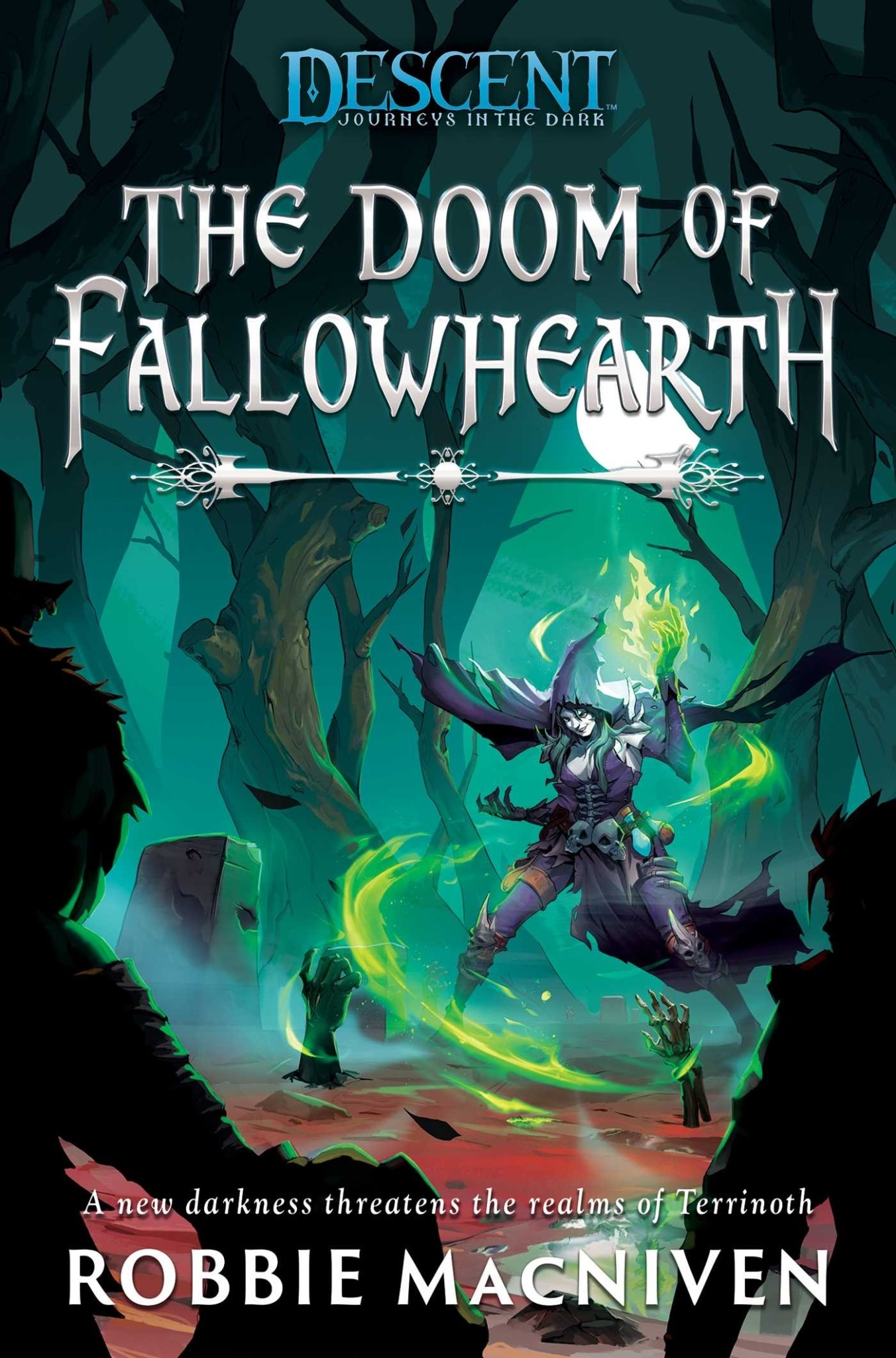 Aconytebooks Descent Journeys in the Dark NOVEL: The Doom of Fallowhearth