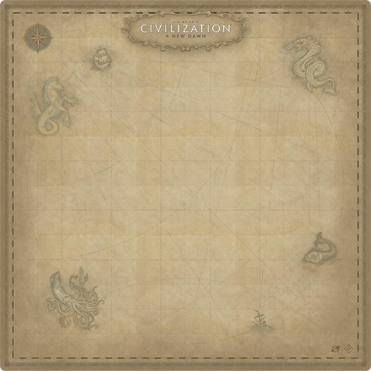 Fantasy Flight Civilization: A New Dawn game mat
