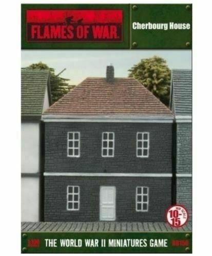 Gale Force Nine Flames of War Terrain: European House - Cherbourg