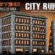 Gale Force Nine Flames of War Terrain: City Ruins