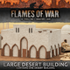 Gale Force Nine Flames of War Terrain: Large Desert Building