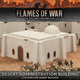 Gale Force Nine Flames of War Terrain: Desert Administration Building