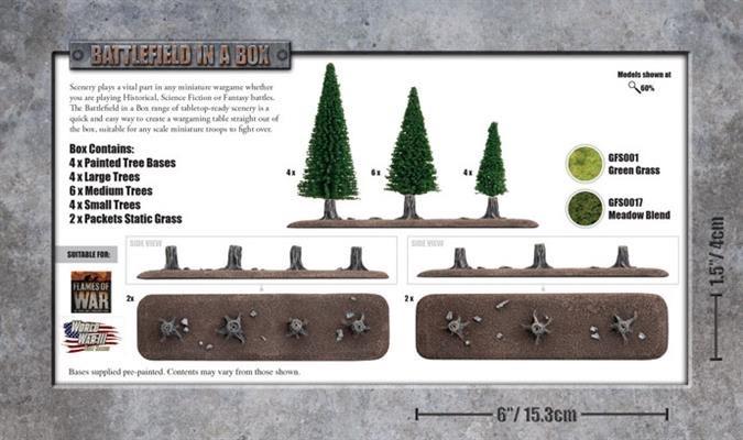 Battlefield in a Box Battlefield in a Box: Tree lines