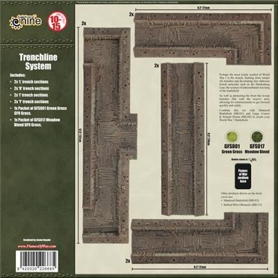 Battlefield in a Box Battlefield in a Box: Trenchline System