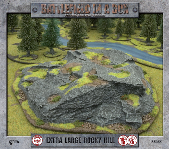 Battlefield in a Box Battlefield in a Box: Extra Large Rocky Hill