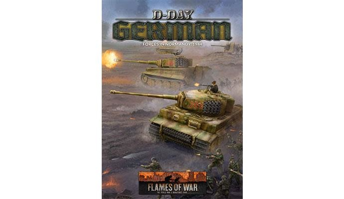 Flames of War Flames of War Book: German D-Day Forces in Normandy