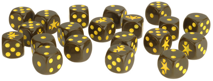 Flames of War Flames of War Dice: Fighting First