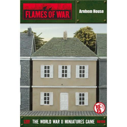 Gale Force Nine Flames of War Terrain: Arnhem house