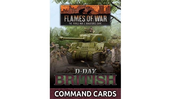 Flames of War Flames of War Command Cards: D-Day, British