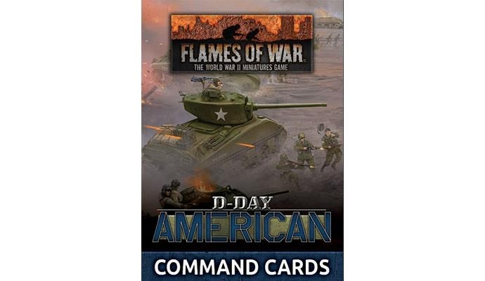 Flames of War Flames of War Command Cards: D-Day, American